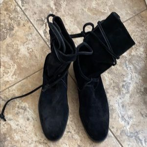 Joan and David suede boot